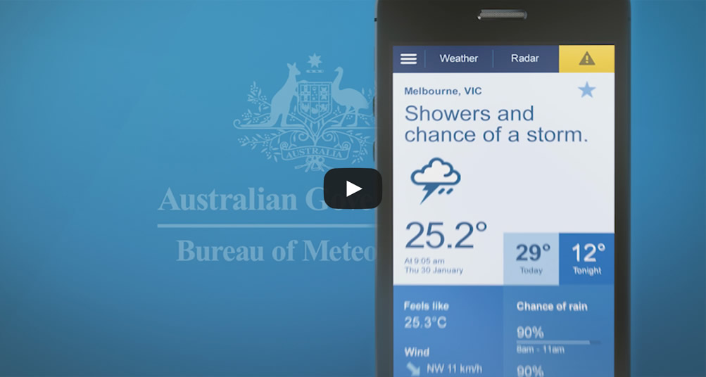 Forecasts at your fingertips with BOM Weather app | White Bay 6