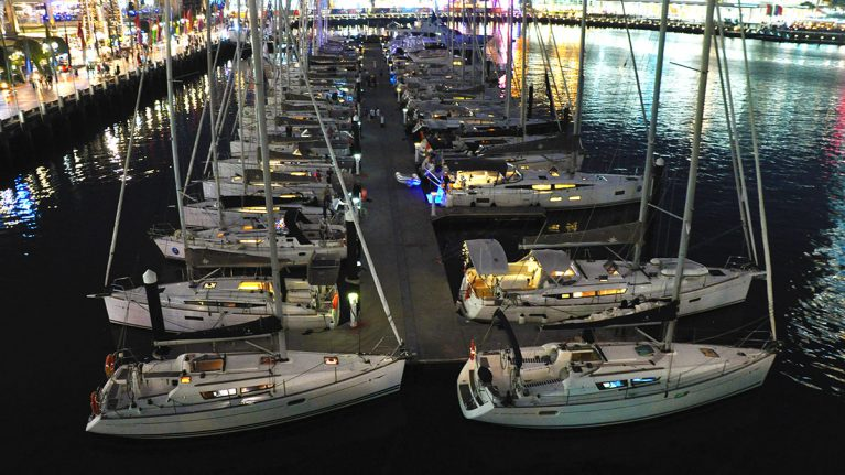White Bay 6 supports NSW Jeanneau Rendezvous