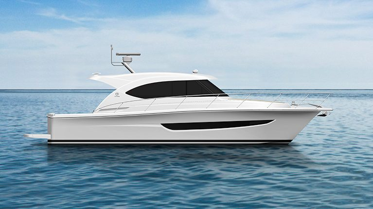 Exciting phase as new Riviera 395 SUV motor yacht comes together