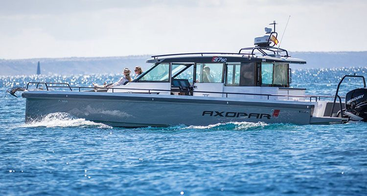 Power boats in the 25ft to 45ft range take centre stage at Sanctuary Cove International Boat Show.