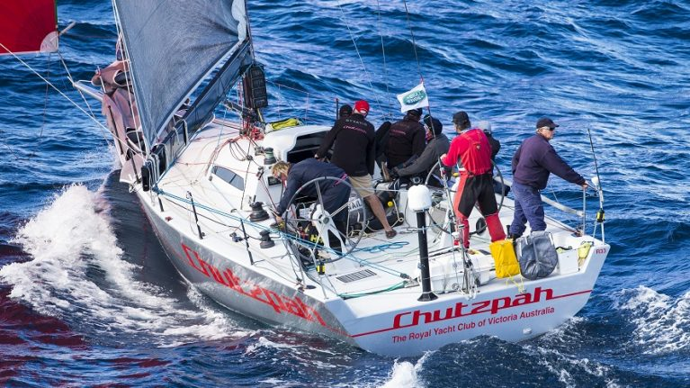 Finally some real wind in Land Rover Sydney Gold Coast Yacht Race