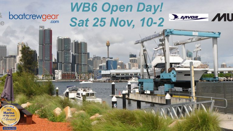 Open Day at Sydney Harbour Boat Storage