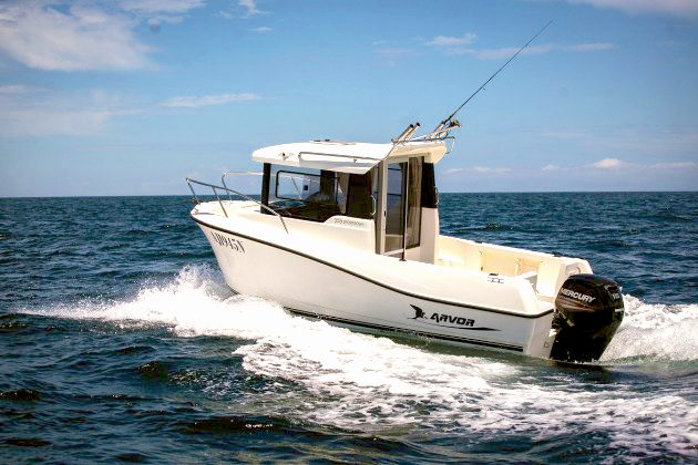 Review of the Arvor 555 Sportsfish