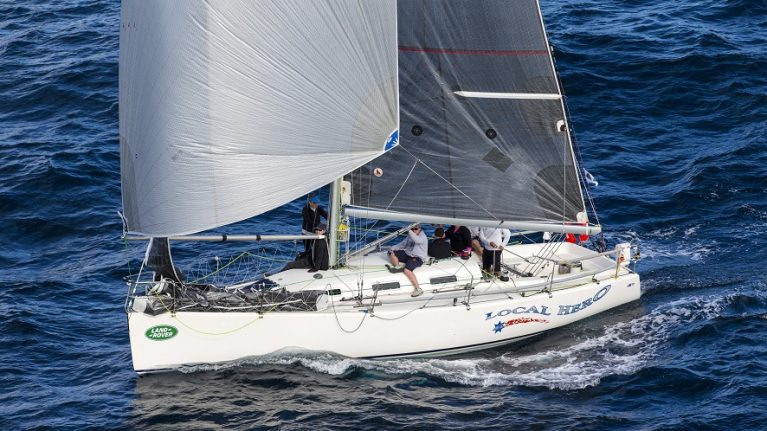 Eight left at sea in Land Rover Sydney Gold Coast Yacht Race